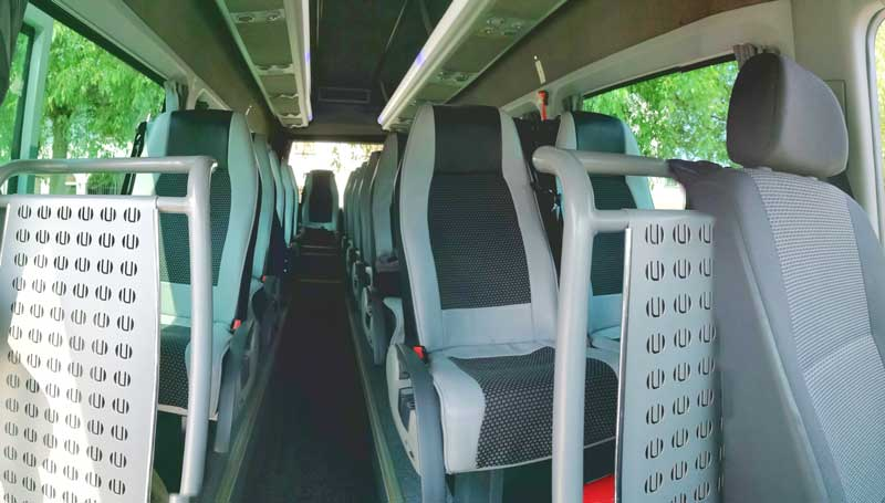 Mercedes Sprinter GT 19 posti – interno
