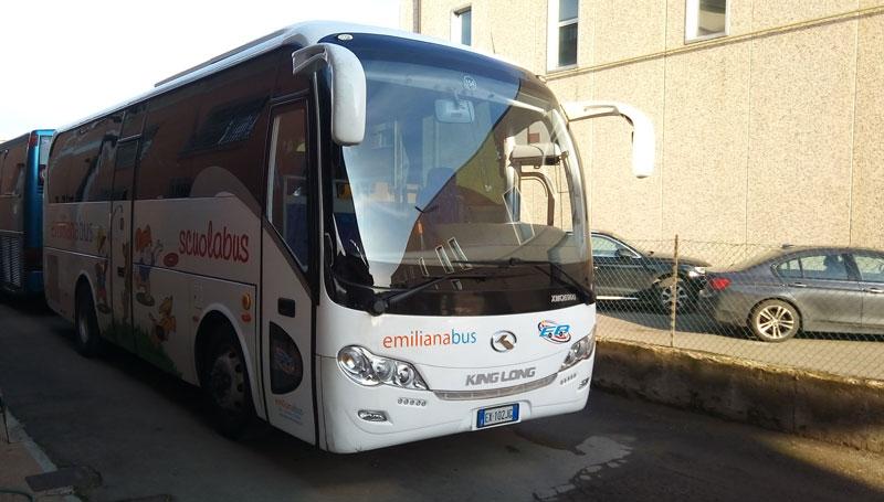 Scuolabus King Long 56 posti
